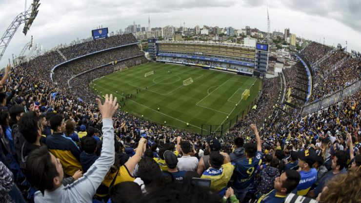 WATCH: Incredible Boca Juniors fans fill stadium for just a training session