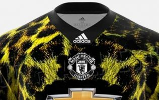 Manchester United release 'digital' leopard print kit that they will never wear