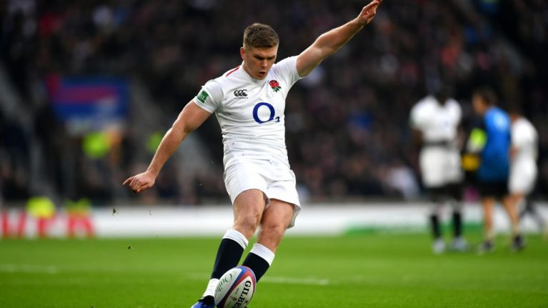 Wallabies denied penalty try as Owen Farrell survives latest tackle controversy in thumping England win