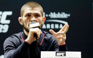 Khabib Nurmagomedov posts footage of brawl with Nate Diaz in response to social media dig