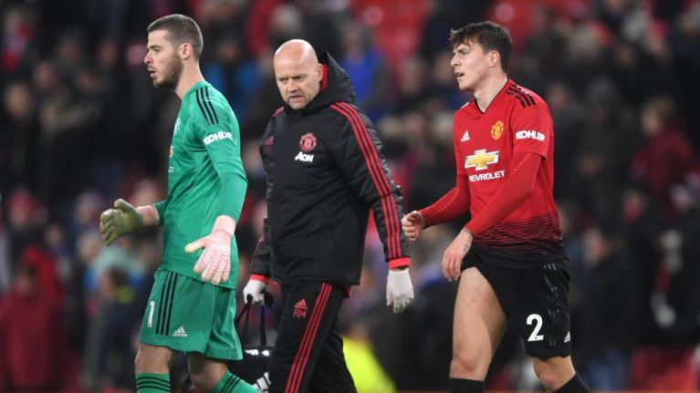 Manchester United dealt injury blow as Victor Lindelof ruled out for a month