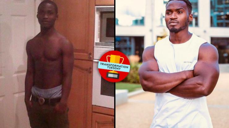 Student who 'struggled to bench 15kg' bulks up into aspiring bodybuilder