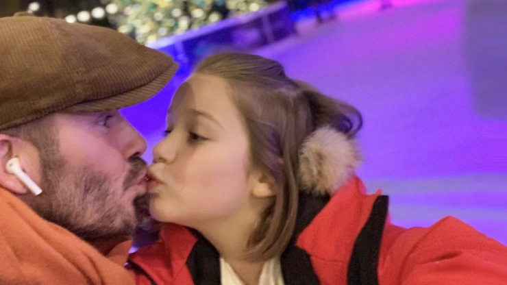 Analysing every unacceptable element of David Beckham's Instagram post with his daughter