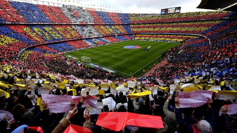 Nou Camp to host Wigan Warriors' Super League game with Catalan Dragons