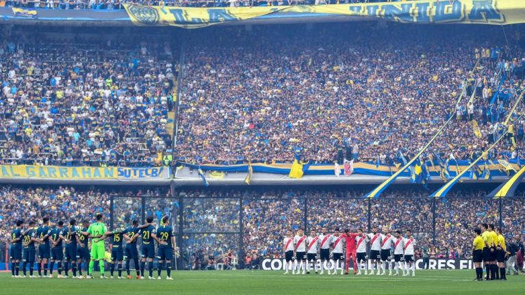 Boca Juniors and River Plate fans could sit together for Copa Libertadores final second leg