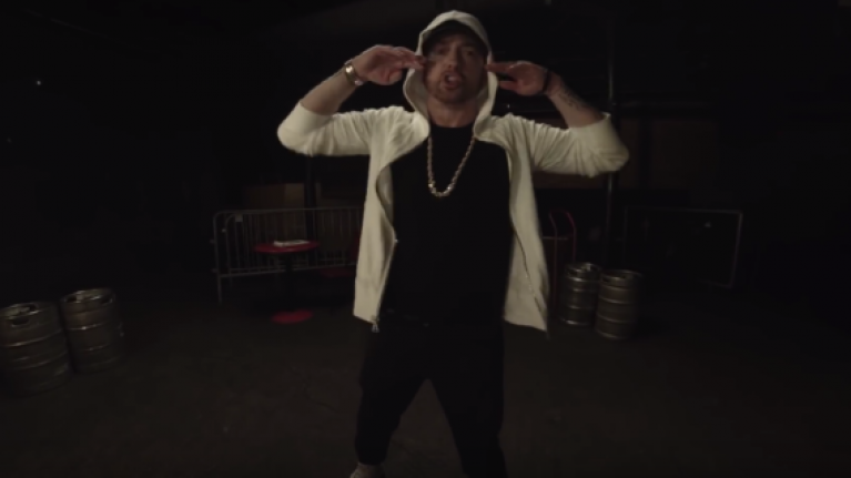WATCH: Fans have very mixed reaction to Eminem's new 10-minute freestyle 'Kick Off'