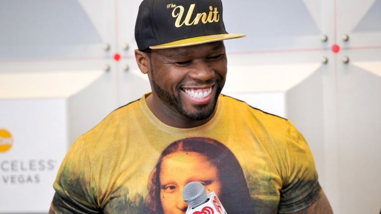 """50 Cent says he """"wouldn't have a bad day"""" if his son got hit by a bus"""