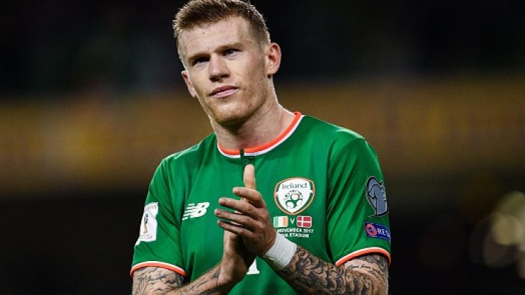 James McClean pays for six homeless people to have food and shelter in heartwarming gesture