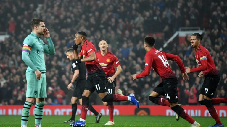 Reenergised Manchester United show what they're capable of in scrappy draw with Arsenal