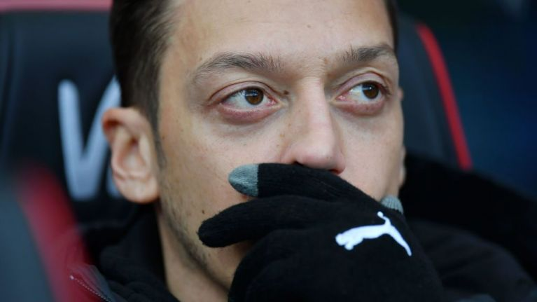 One Arsenal fan has a theory Mesut Ozil isn't playing because of Fortnite