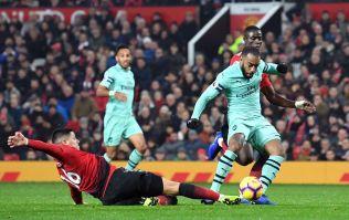 Lacazette and Arsenal teammates tweet Premier League about Marcos Rojo own goal