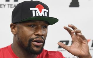 Floyd Mayweather did not react well to question about kicks in Nasukawa bout