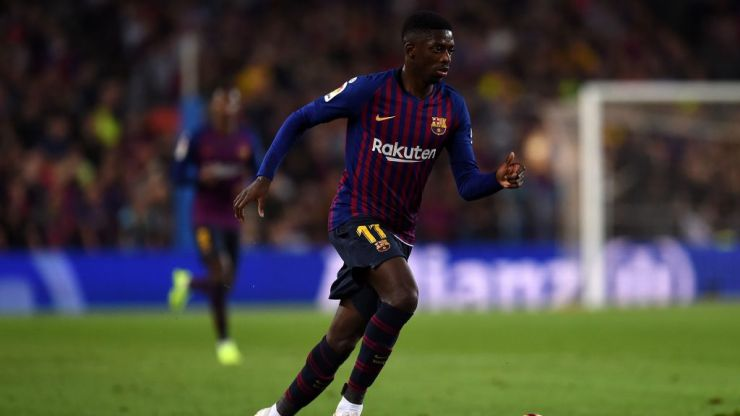 Ousmane Dembélé fuels exit rumours with another late arrival to training