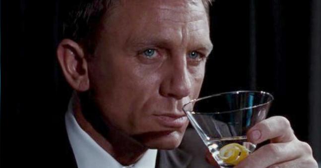 "James Bond has a ""severe"" alcohol problem, according to researchers | JOE.co.uk"