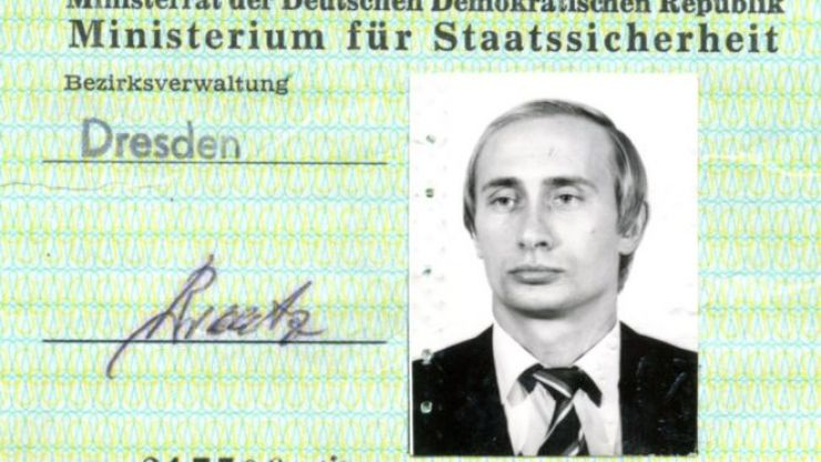 Vladimir Putin's KGB spy ID discovered in Germany
