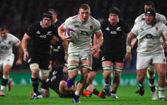 Sam Underhill discusses pasta, pull-ups and side-stepping Beauden Barrett