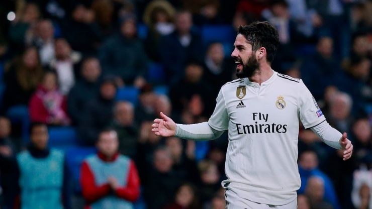 Isco edges closer to Real Madrid exit as fans turn on him after outburst