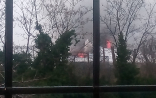 Huge fire causes evacuation of Chester zoo