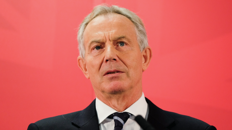 Tony Blair describes Theresa May as 'irresponsible' as public Brexit feud escalates