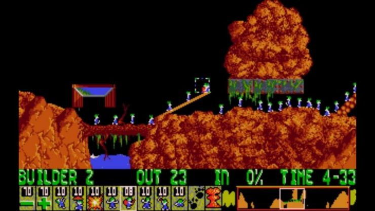 Classic puzzle game Lemmings has been released for free