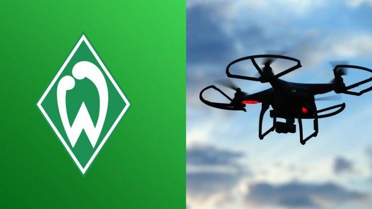 Werder Bremen admit flying drone near Hoffenheim training