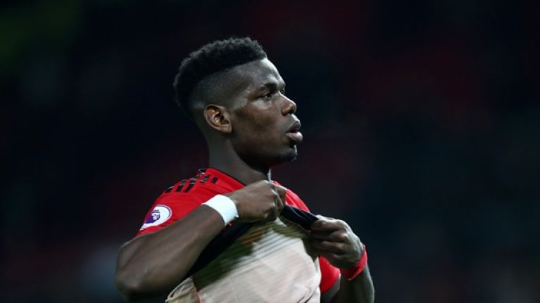 """Solskjaer says that """"Paul Pogba loves playing for Manchester United"""""""