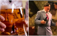 Man has first drink in eight months, ends up punching a tree in half