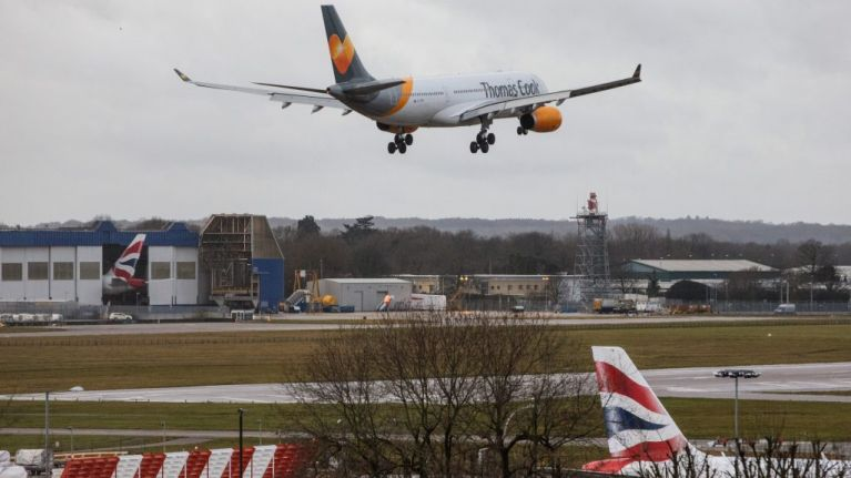 Police admit some of the drones spotted over Gatwick could have been theirs