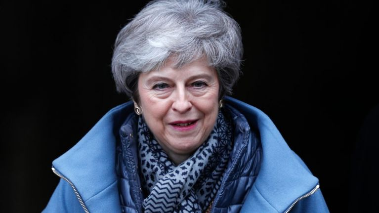 Theresa May denies there is any link between rise in knife crime and austerity