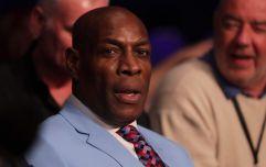 Boxing legend Frank Bruno hospitalised with pneumonia