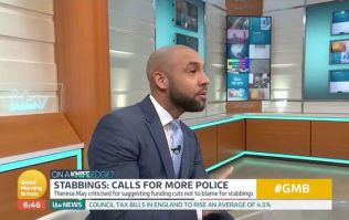 GMB weatherman Alex Beresford interrupts debate with impassioned speech on knife crime epidemic