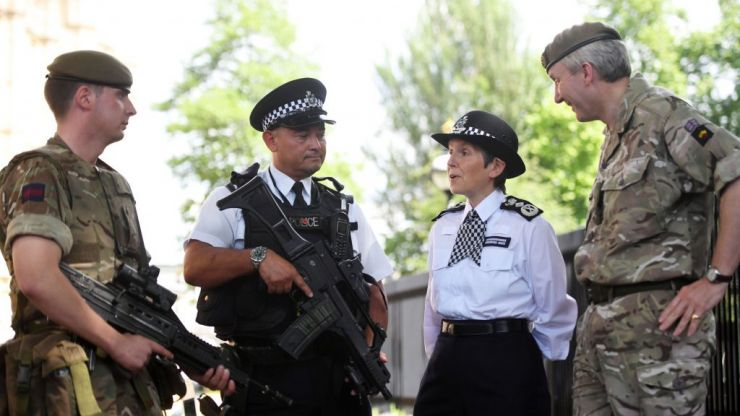 Army could be brought in to combat knife crime, says Met Police chief