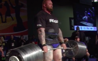 The Mountain from Game of Thrones breaks his own deadlift record twice in one week
