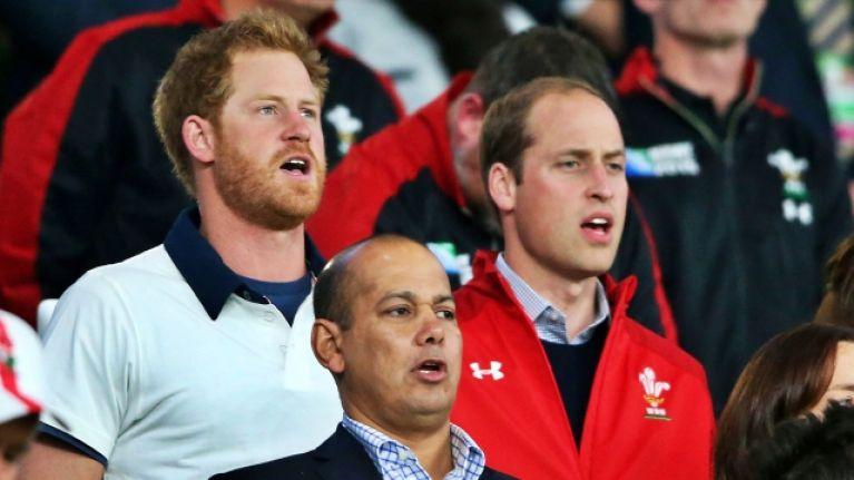 Prince William was texting Mike Tindall as soon as Wales beat England