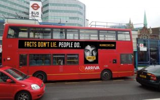 'Michael Jackson innocent' adverts appear on London buses