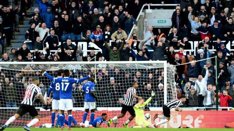 Newcastle complete stunning comeback to beat Everton