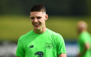 Declan Rice has won the FAI Young Player of the Year award