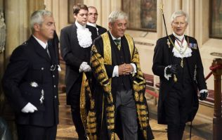 John Bercow explains his use of 'order' and shouts it into a camera in the process