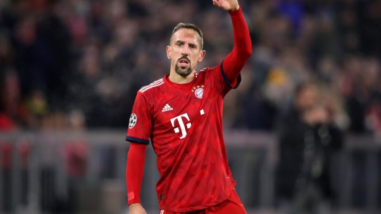Franck Ribery showcases horrendous new haircut in Liverpool clash