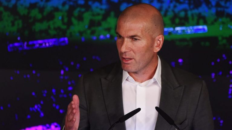 Real Madrid confirm first signing of Zinedine Zidane's second spell as manager