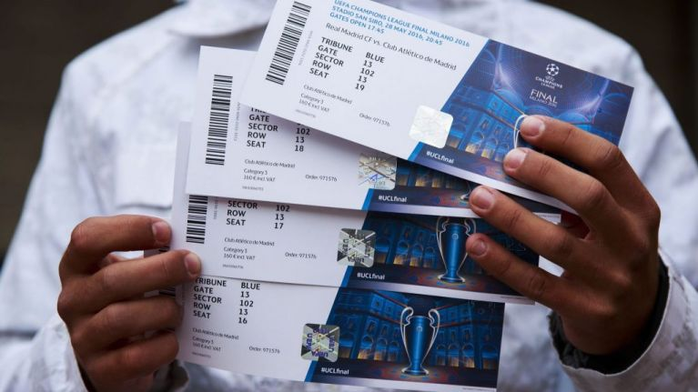 Champions League final: Just over half of tickets will be given to fans