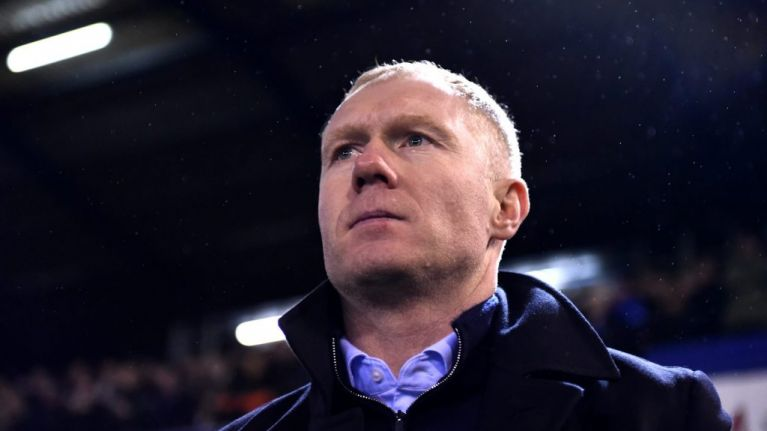 Paul Scholes leaves Oldham Athletic after just over a month in charge