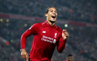 Virgil Van Dijk equals decade-old Liverpool statistic with extraordinary attacking display against Bayern Munich