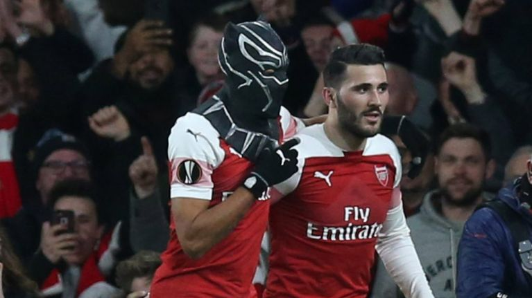 Pierre-Emerick Aubameyang explains reason behind Black Panther celebration