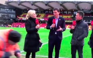 Stealthy Watford steward almost makes it past BT Sport cameras unnoticed