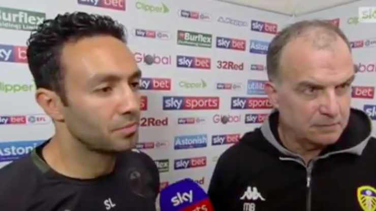 Marcelo Bielsa demands reporter answers his question in feisty post-match interview