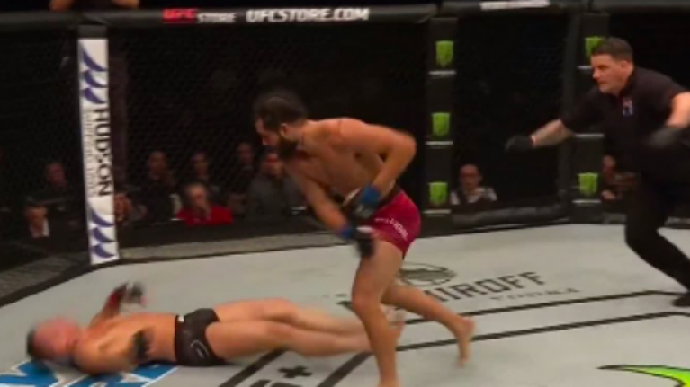 Jorge Masvidal knocks Darren Till out cold in main event of UFC London