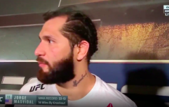 Jorge Masvidal and Leon Edwards in backstage scrap at UFC London