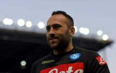 David Ospina collapses after head injury during Napoli game