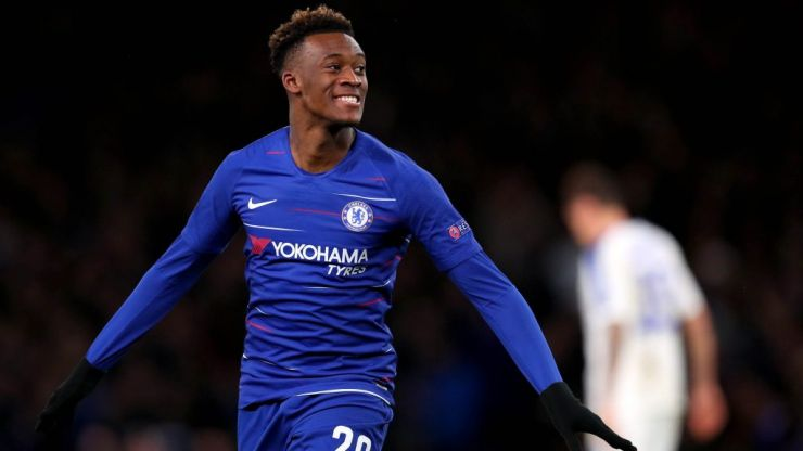 Callum Hudson-Odoi called up to England squad for first time